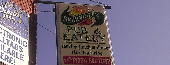 Skinner's Pub & Eatery is one of City Pages Best of Twin Cities: 2014.