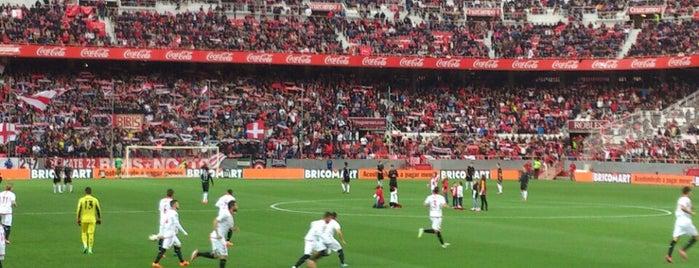Estadio Ramón Sánchez-Pizjuán is one of Spain Trip 2014.