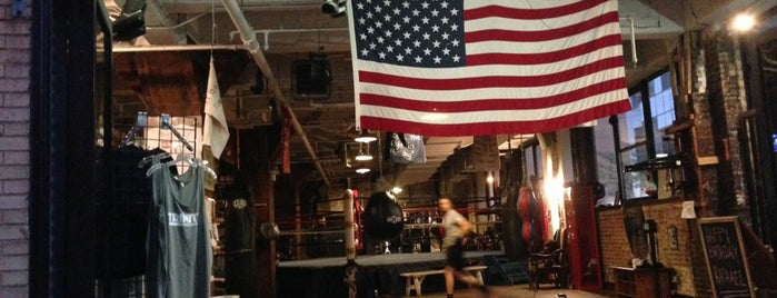 Trinity Boxing Club is one of New York 2012.