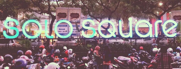 Solo Square is one of All-time favorites in Indonesia.