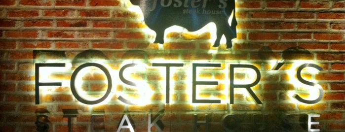 FOSTER'S Steak House is one of Puro Humo (áreas de fumar en GDL).