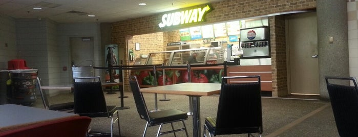 Subway is one of UofL.