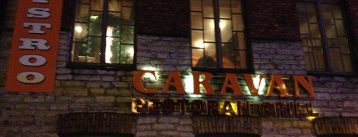 """""""Caravan"""" Grill Restoran is one of The Barman's bars in Tallinn."""