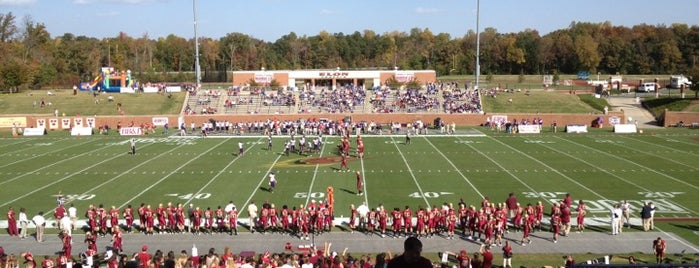 Rhodes Stadium is one of Sports Venues I've Worked At.