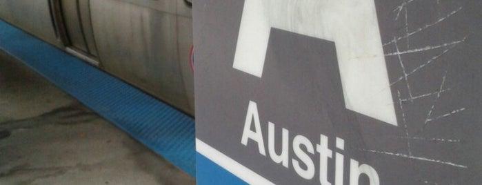 CTA - Austin is one of CTA Blue Line.