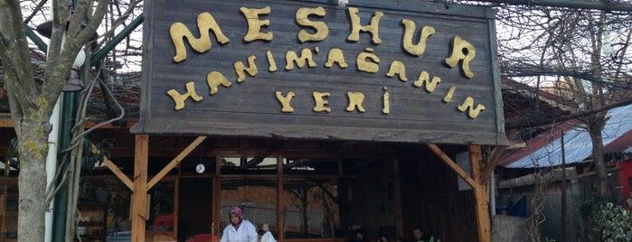 Hanım Ağanın Yeri is one of Yeme & İçme.