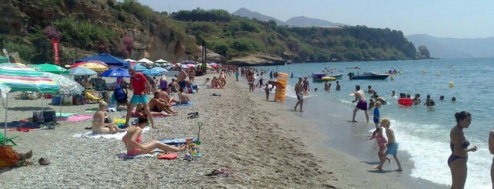 Playa Burriana is one of Nerja.