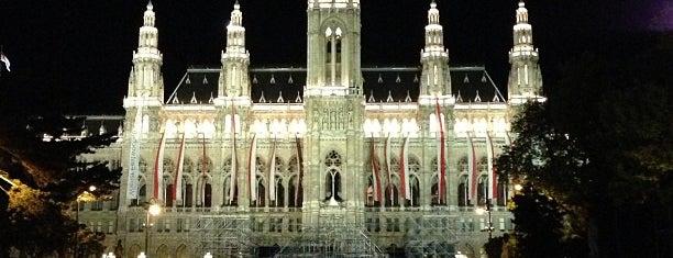 Wiener Rathaus is one of Vienna, Austria.