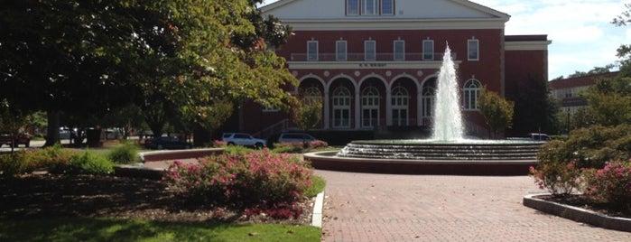 East Carolina University is one of NCAA Division I FBS Football Schools.