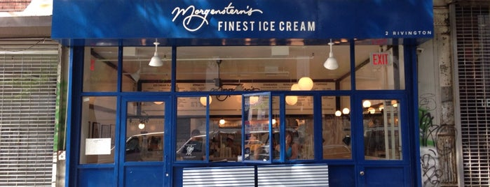 Morgenstern's Finest Ice Cream is one of Dessert + Snack.