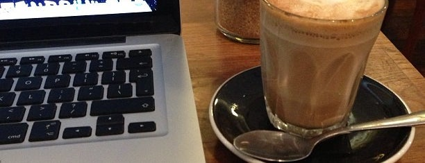 Cafés with Wifi and Plugs