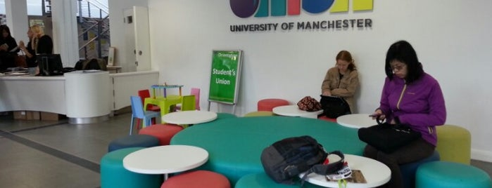 University of Manchester Students' Union (UMSU) is one of Inspired locations of learning.