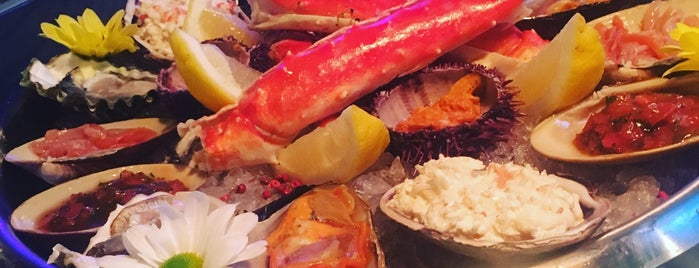 Seafood bar & shop is one of 4.