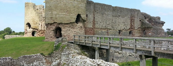 Rhuddlan Castle is one of Historic Castles of North Wales.