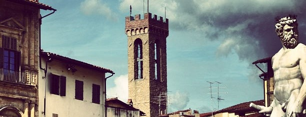 Piazza della Signoria is one of Best of Tuscany, Italy.