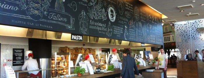 Vapiano is one of Mijn plekjes in Tallinn.