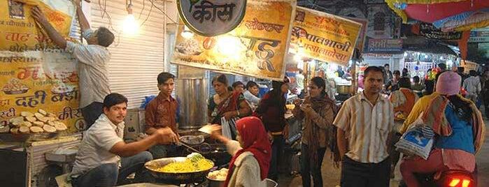 Sarafa is one of Indori chatore.