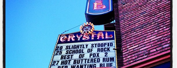 Crystal Ballroom is one of PDX To-Do.