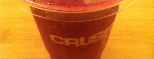 Crussh is one of London.