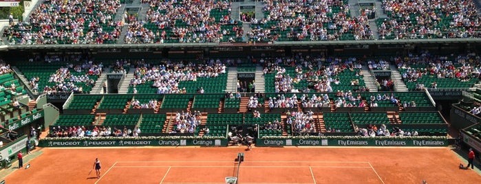 Stade Roland Garros is one of Loisirs.