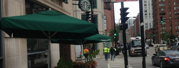 Starbucks is one of River North.