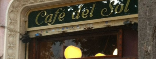 Café del Sol is one of My Barcelona!.