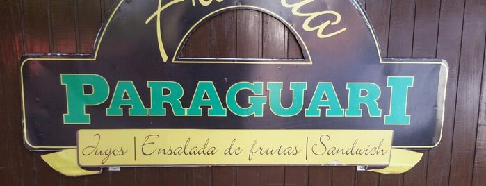 Fruteria Paraguari is one of Favoritos.