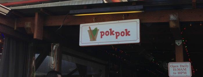 Pok Pok is one of Dan's Portland.