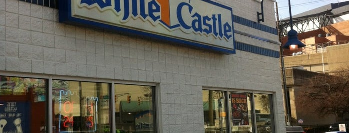White Castle is one of Locations Discovered.