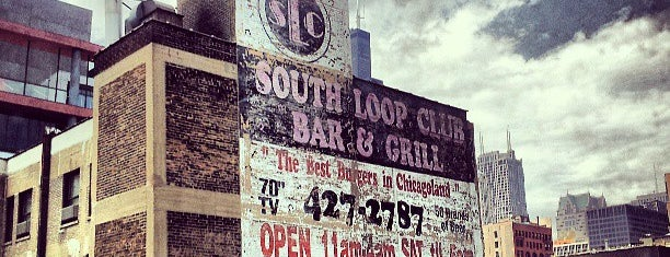South Loop Club is one of Must-visit Bars in Chicago.