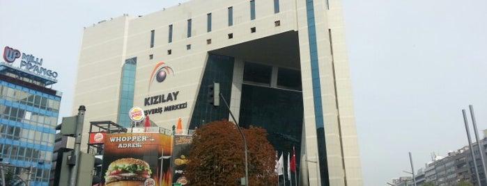 Kızılay AVM is one of Ankara AVM'leri.