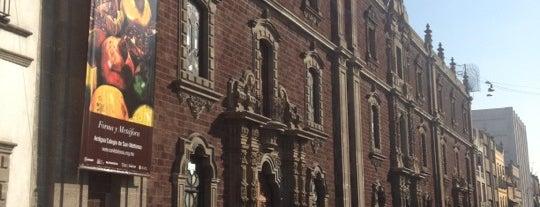 Antiguo Colegio de San Ildefonso is one of DF.