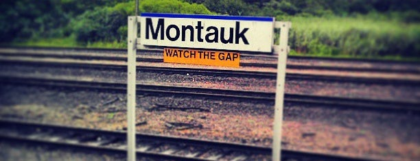LIRR - Montauk Station is one of Montauk, NY.