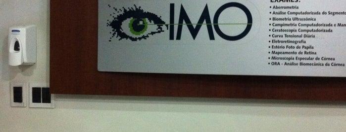IMO - Instituto de Moléstias Oculares is one of Farmácias/Hospitais.