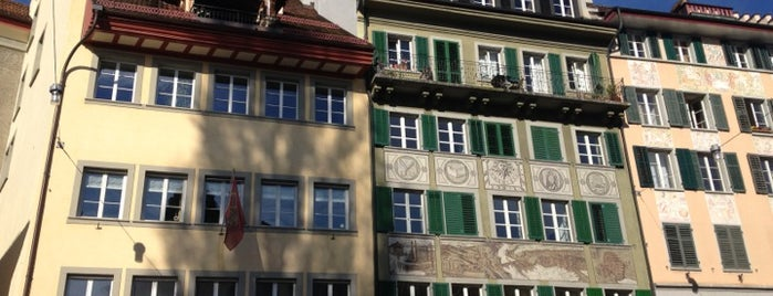 Weinmarkt is one of Discover Lucerne.