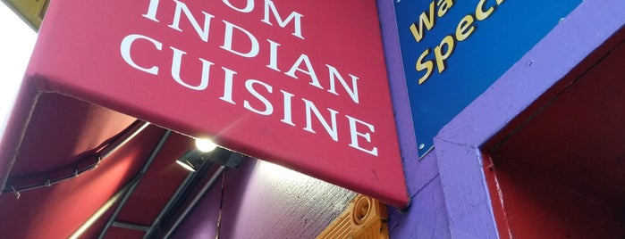 Om Indian Cuisine is one of SF food.