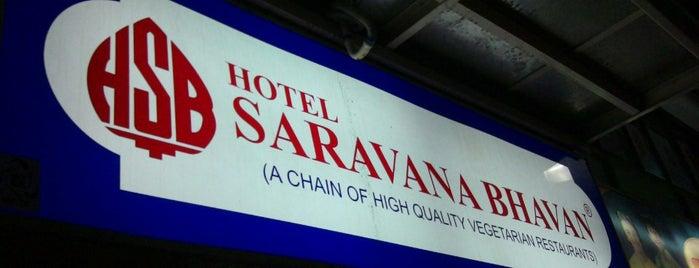 Hotel Saravana Bhavan is one of Top picks for Indian Restaurants.
