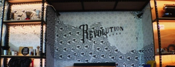 Revolution Coffee is one of Cafes To Visit!.