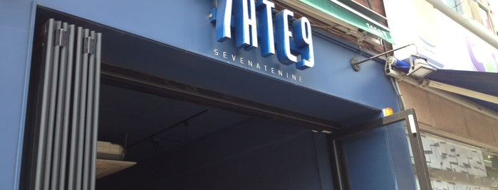 7ATE9 is one of Itaewon food.
