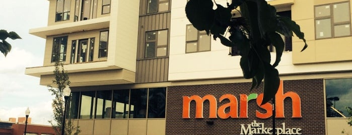 Marsh The Marketplace is one of The 15 Best Places for Groceries in Indianapolis.