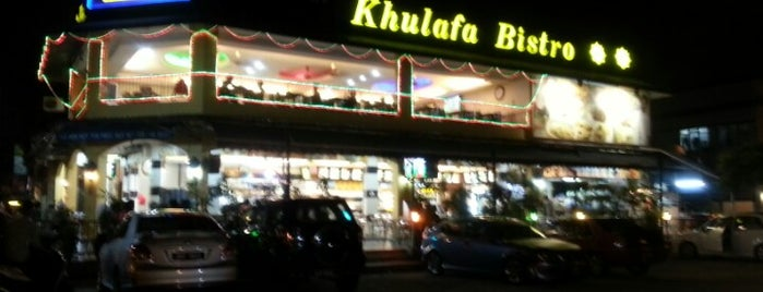 Restoran Khulafa Bistro is one of Best Restaurant.