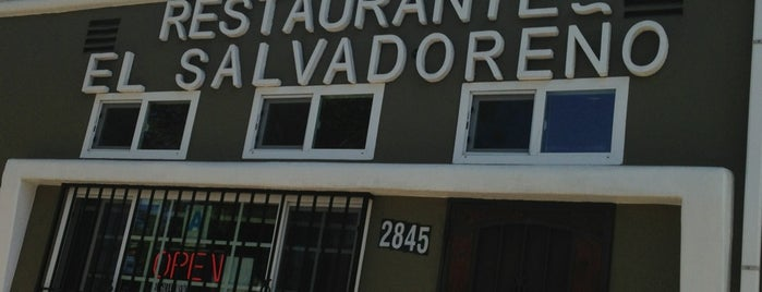 Restaurante El Salvadoreño is one of SD: Food & Drinks.