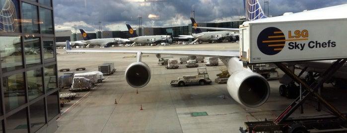 Frankfurt Airport (FRA) is one of Mein Deutschland.