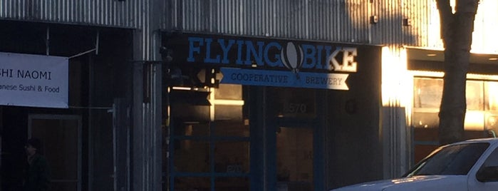 Flying Bike Cooperative Brewery is one of Seattle.