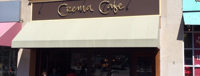 Crema Cafe is one of Boston Tech.