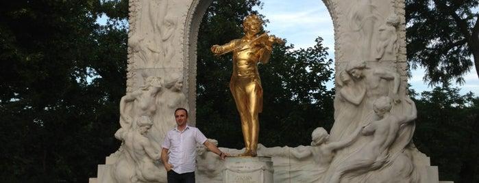 Johann Strauß Memorial is one of Vienna tips.