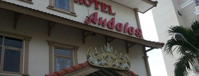 Hotel Andalas  Tanjung Karang Bandar Lampung is one of Hotel.
