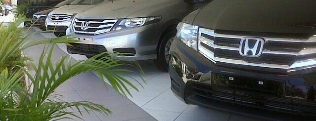 Honda Novaluz is one of Wi-fi grátis.