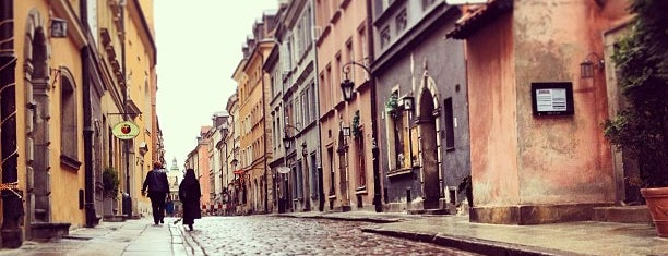 Old Town is one of Warsaw, Poland.