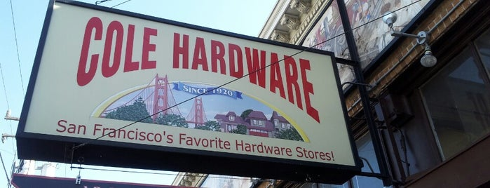 Cole Hardware is one of Cole Valley Environs.